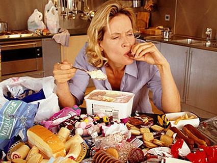 Do you eat because you're unhappy?