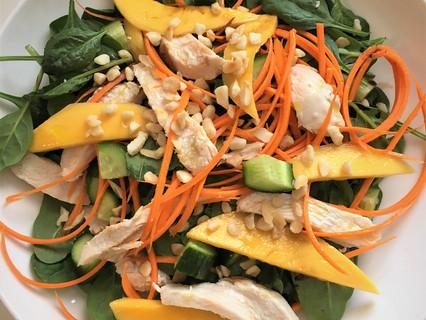 My Chicken Mango Macadamia Salad
