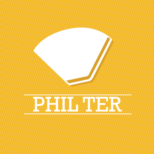 PHIL-TER - FILTER BLEND - ROASTED GROUND FOR ESPRESSO - 250g