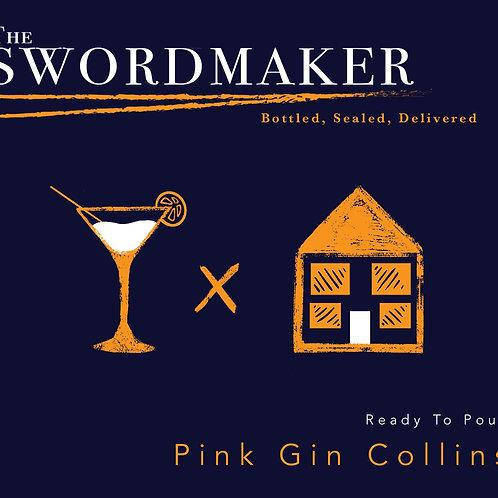 X6 PINK GIN COLLINS + SODA - 525ML