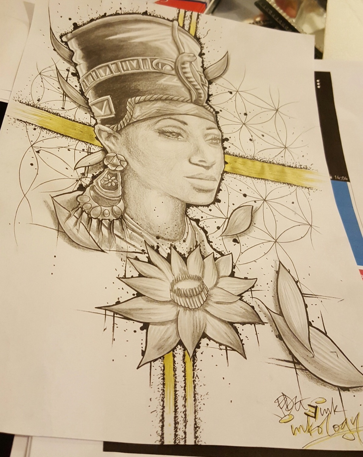 Nefertiti design