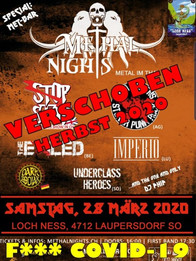 methal nights 2020