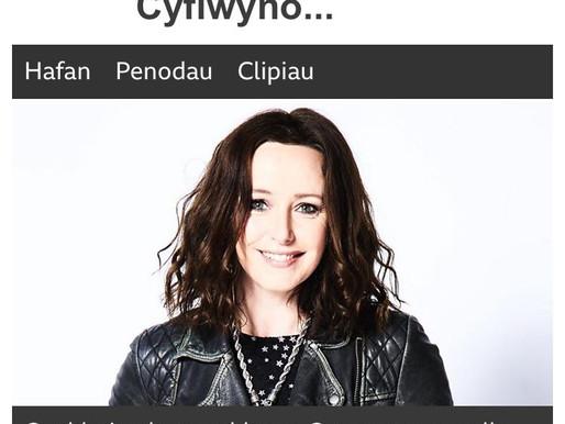 Diolch! // Thank You! BBC Radio Cymru & BBC Radio Cymru2!