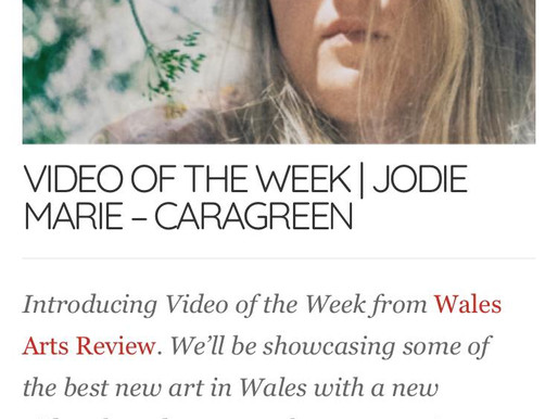 'Carageen' is Wales Arts Review's Video of the Week! Plus a track by track!