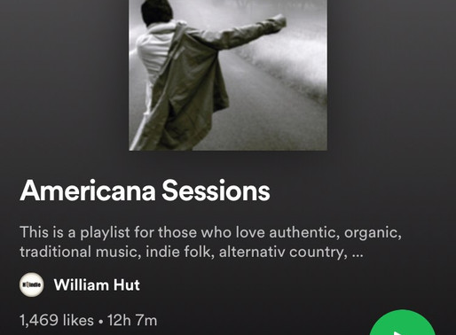 Jodie Marie's 'Carageen', added to Americana Spotify Playlist!