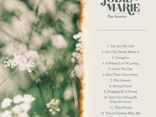 Celebratory Track by Track of Jodie Marie's 'The Answer' starts tomorrow!