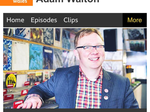 Great start to the year! New unheard track played by Adam Walton on BBC Radio Wales!