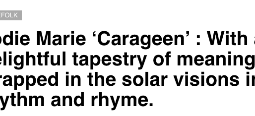 Carageen single REVIEW by 'ComeHereFloyd'
