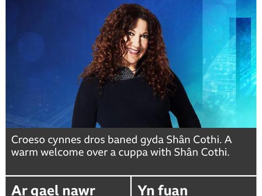 Jodie Marie chats with Shan Cothi on BBC Radio Cymru/Cymru2!