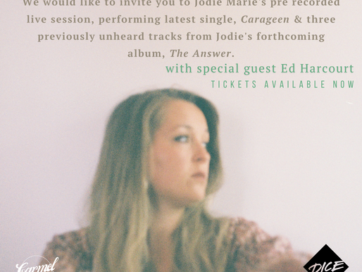 TONIGHT! 8pm! Pre recorded live stream with guest Ed Harcourt!