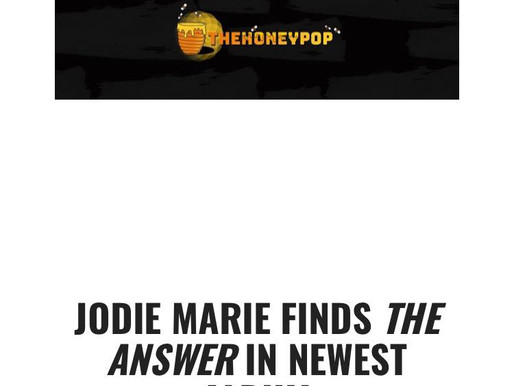 Jodie Marie album review from The Honey Pop!