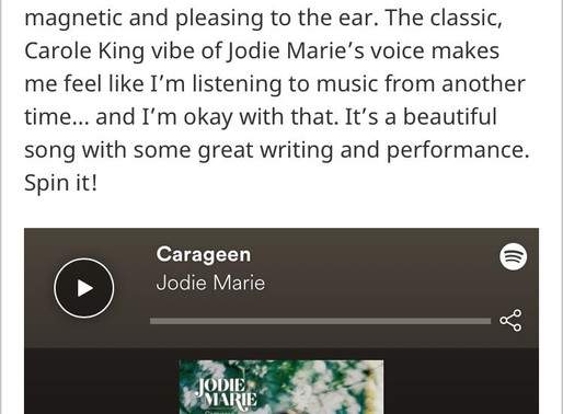 Carageen - Ear To The Ground Music Review