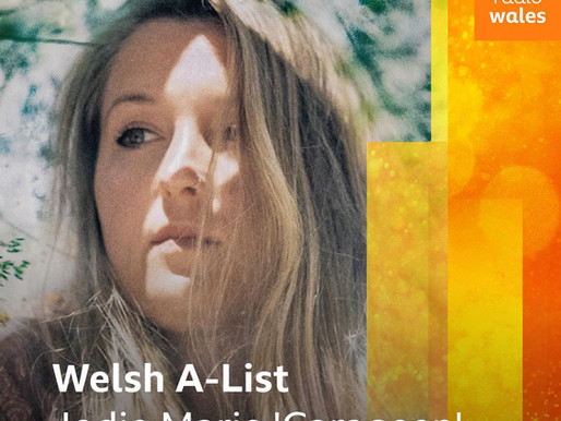 Carageen on the A-List for the SECOND WEEK on BBC Radio Wales!