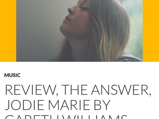 Get The Chance reviews Jodie Marie's latest album, The Answer!