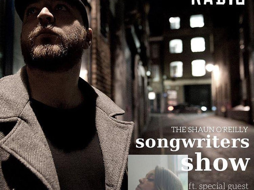 Jodie Marie Interview with Shaun O'Reilly on his Songwriters Show on Islington Radio