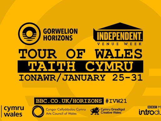 Rewatch Jodie Marie's Horizons/Gorwelion Independent Venue Week performance at Queens Hall Narberth!