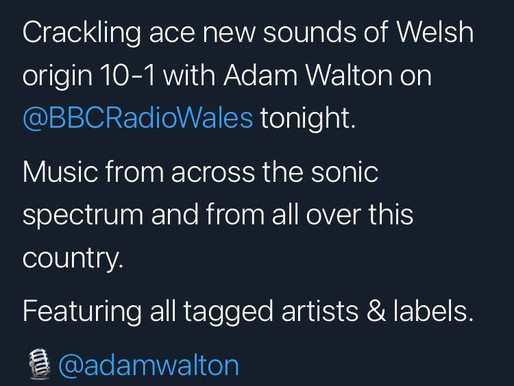 Jodie Marie's new track, 'This House' gets radio play on BBC Radio Wales with Adam Walton!
