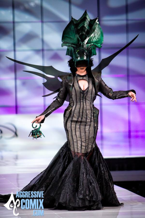 Alien Queen inspired Gown 2015