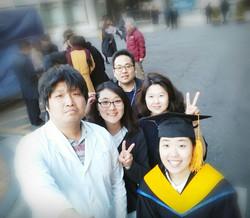 탁효선 석사졸업식