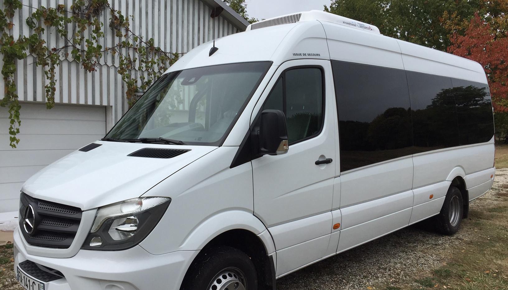 Location minibus 20 places Sprinter