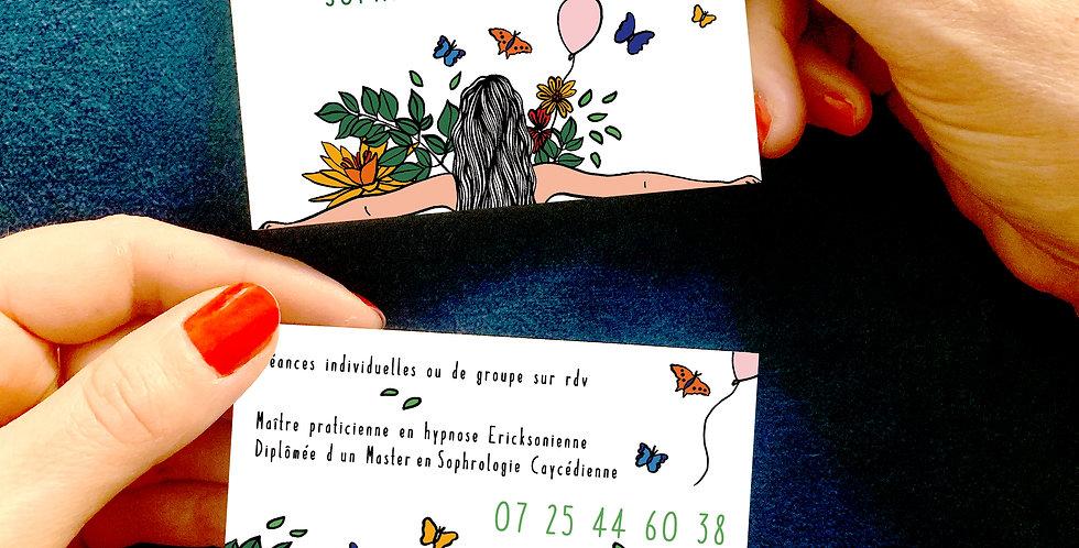 CARTE DE VISITE SOPHROLOGUE