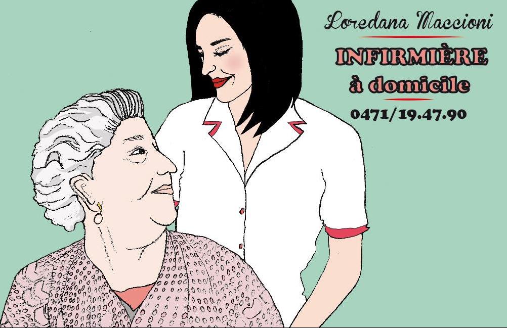illustration infirmière
