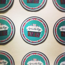 Stickers pour Sweety Papilles