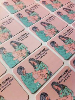cartes de visite sage-femme