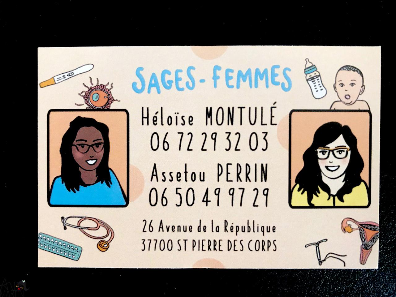 carte de visite sages-femmes