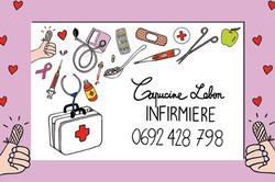 carte de visite infirmière
