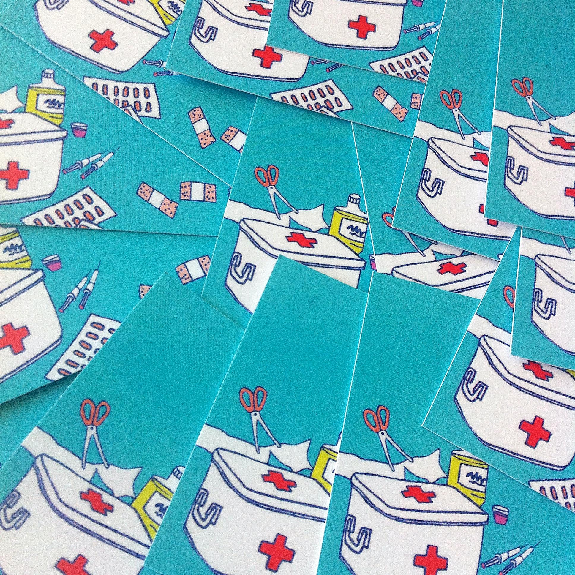 carte visite infirmière