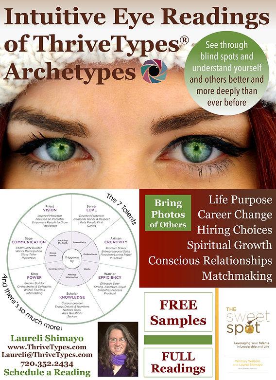 Eye Readings Cosmic Awareness Fair Jan 2