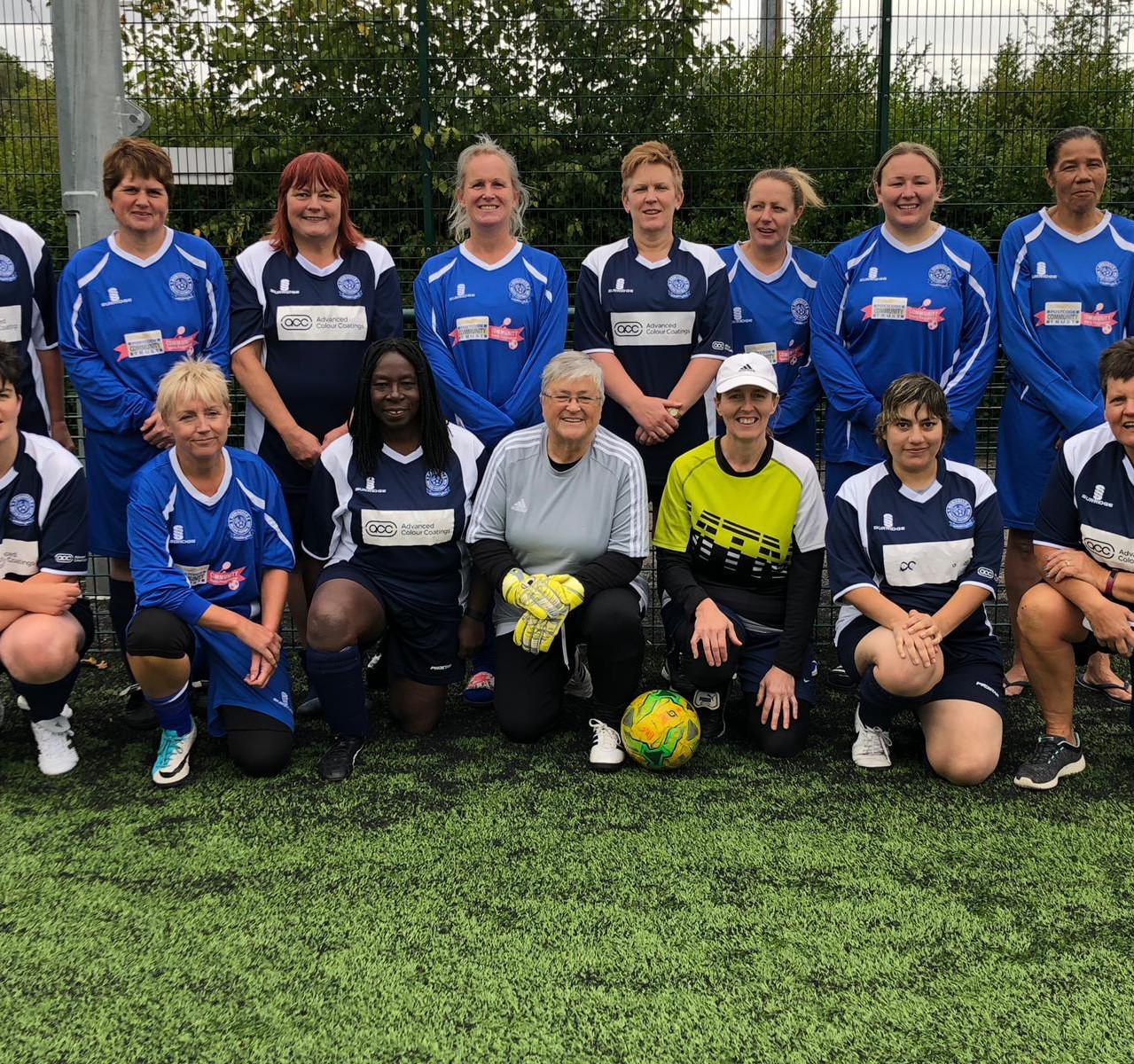 BWFC ladies Nottingham 11