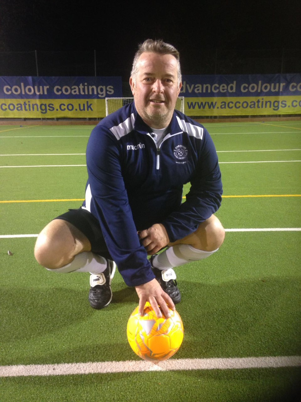 David Castle - England Over 50's First Team Coach
