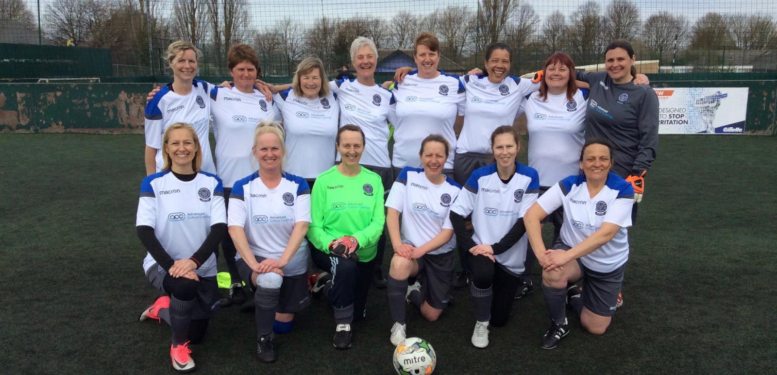 Peoples cup Peterborough ladies 8