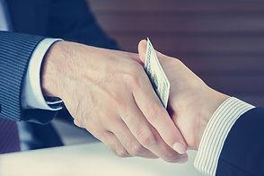 handshake fraud shady deal