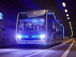Mercedes Benz and the bus of the future