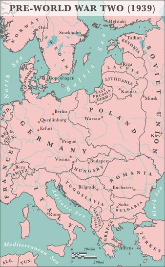 Pre-World War Two Europe