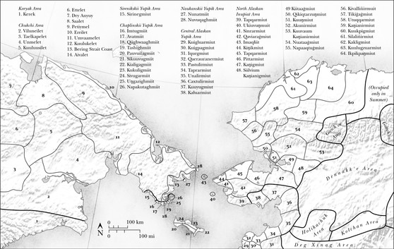 Native Territories of the Bering Strait