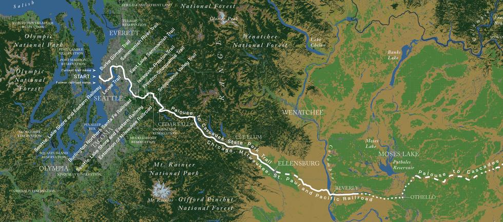 Biking the Rails to Trails Network