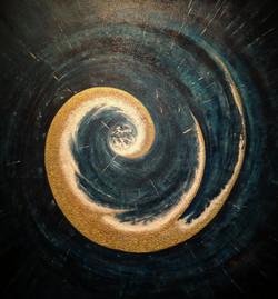 """""""Welt aus der Spirale"""" 2016"""