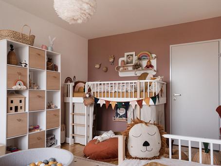 Kinderzimmer streichen: Möglichkeiten & Gefahren