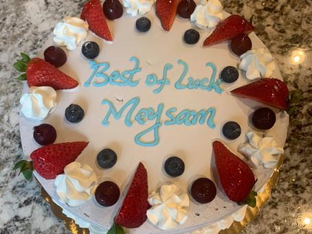 Best of luck, Meysam!!!
