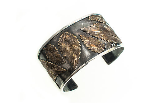 "Botanical cuff 1 1/2"" wide"