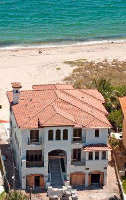 10,000 sqft Ocean Front Custom Residence
