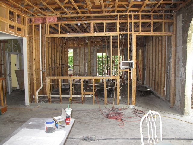 Load Bearing Interior Frame Wall