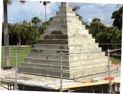 Cast in Place Custom Conccrete Pyramid