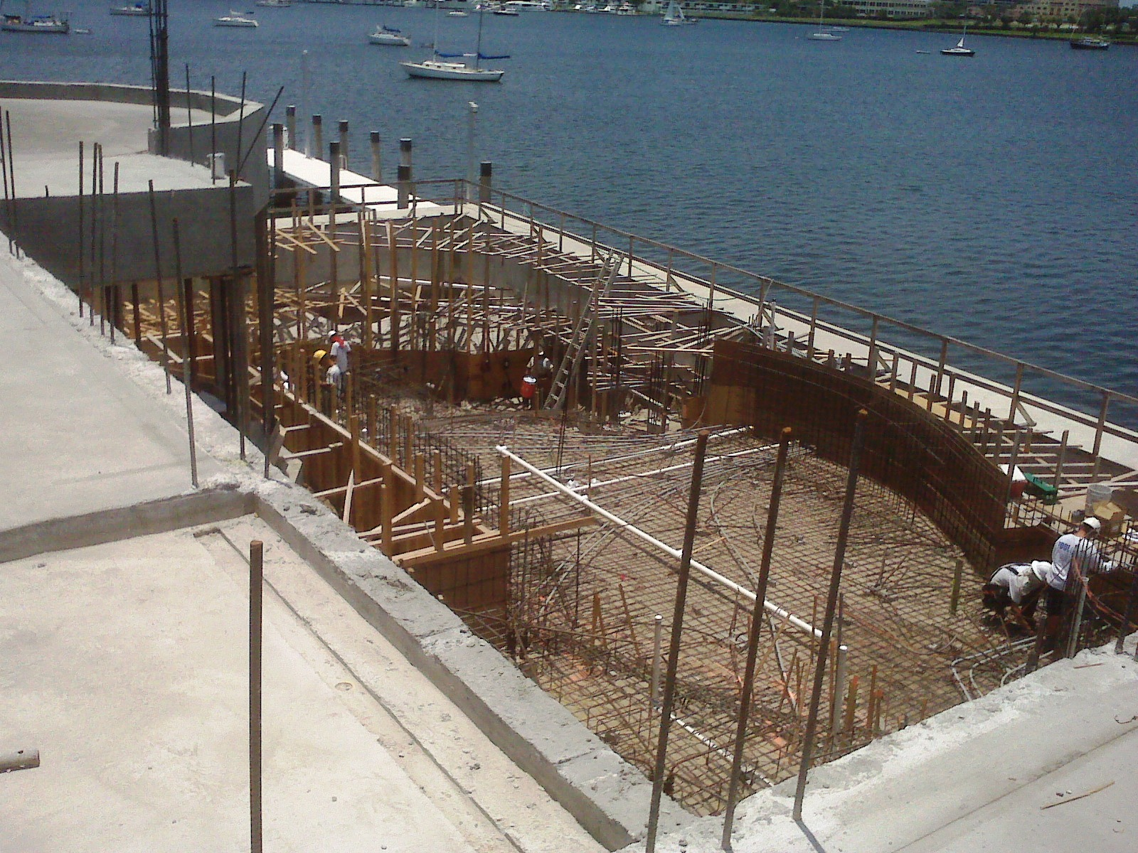 Cast in Place Deck