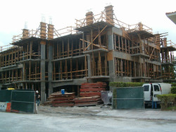 39,000 sqft 4 Story Cast in Place Column Work