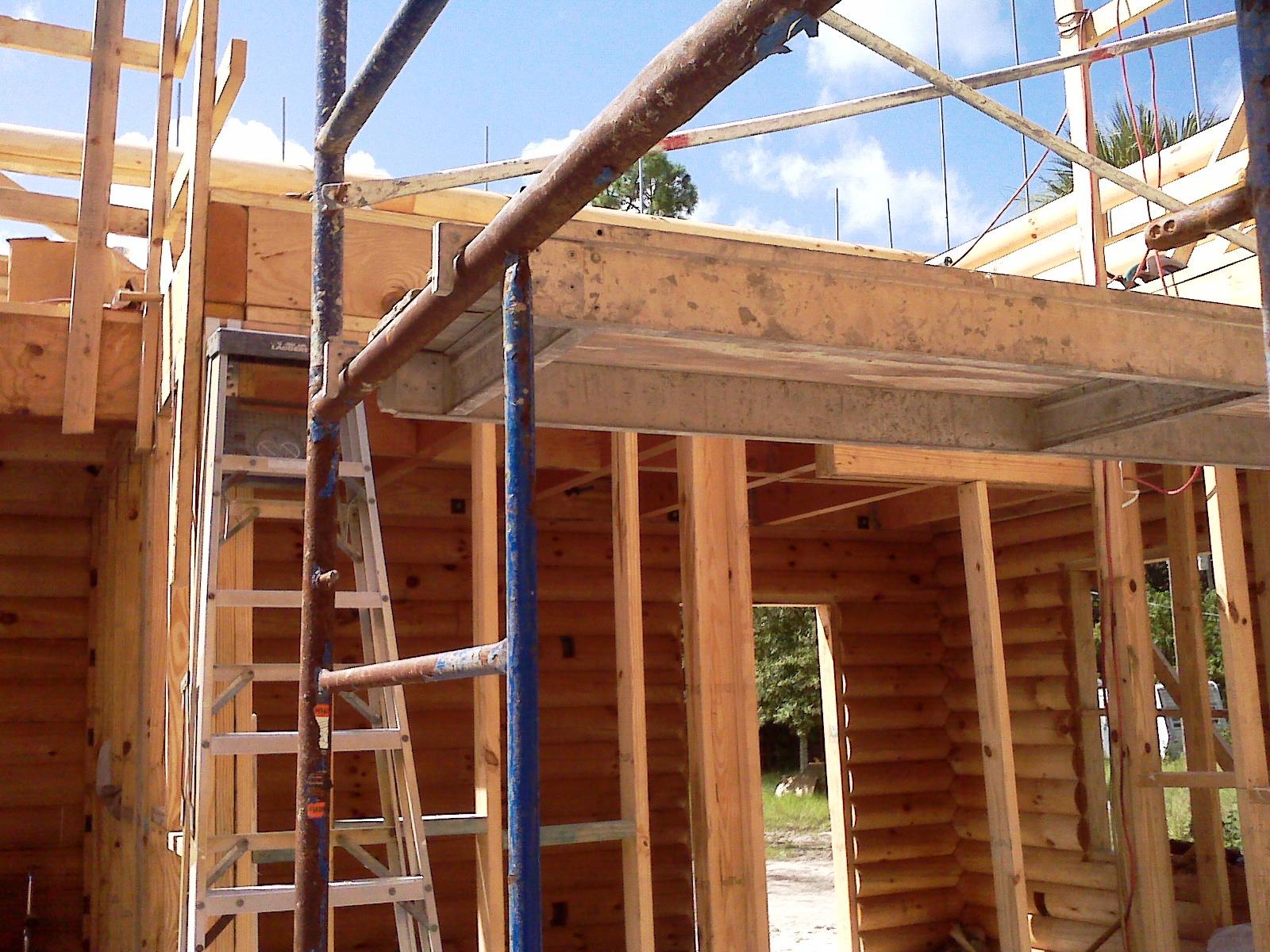 Log Cabin in Progress